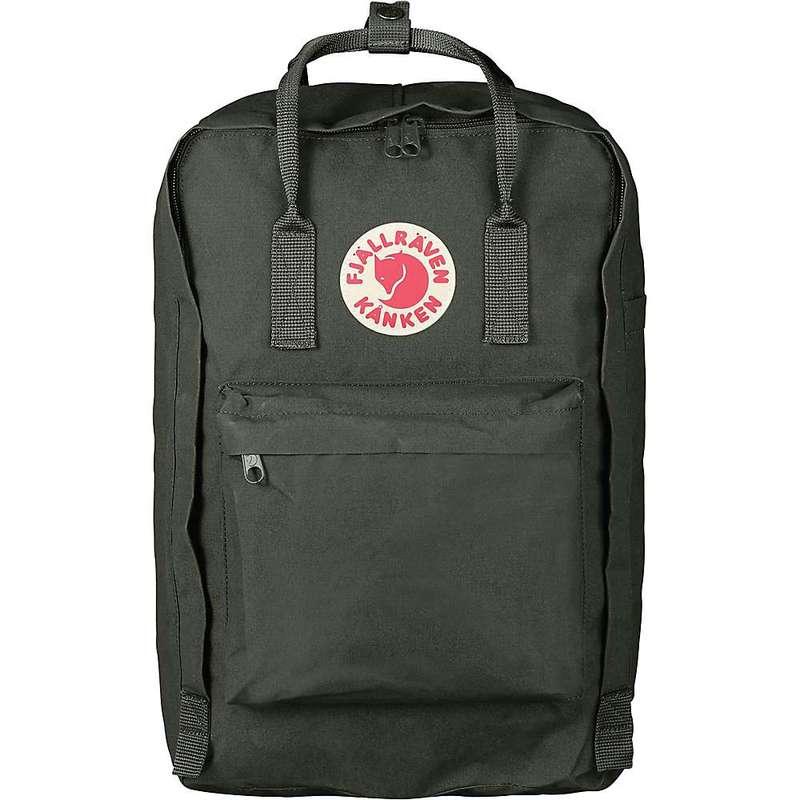 フェールラーベン メンズ バックパック・リュックサック バッグ Fjallraven Kanken 17 Inch Laptop Bag Deep Forest