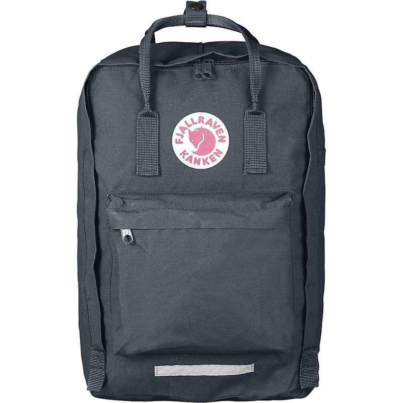 フェールラーベン メンズ バックパック・リュックサック バッグ Fjallraven Kanken 17 Inch Laptop Bag Graphite