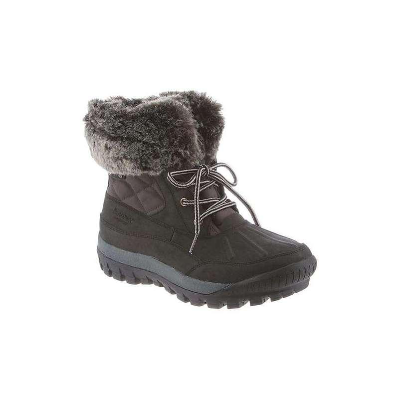 ベアパウ レディース ブーツ・レインブーツ シューズ Bearpaw Women's Becka Waterproof Winter Boot Black / Grey