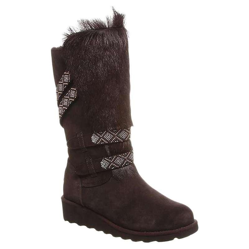 ベアパウ レディース ブーツ・レインブーツ シューズ Bearpaw Women's Claudia Boot Chocolate