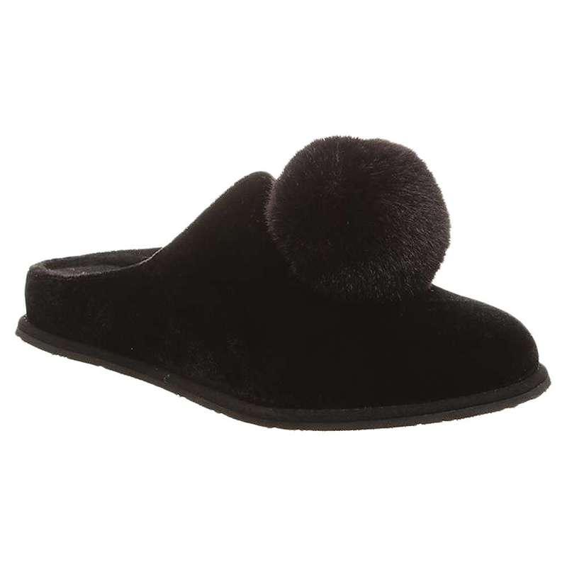 ベアパウ レディース サンダル シューズ Bearpaw Women's Tango Slipper Black II