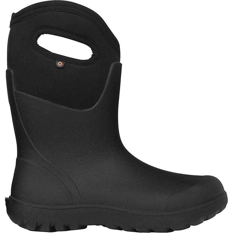 ボグス レディース ブーツ・レインブーツ シューズ Bogs Women's Neo-Classic Mid Boot Black
