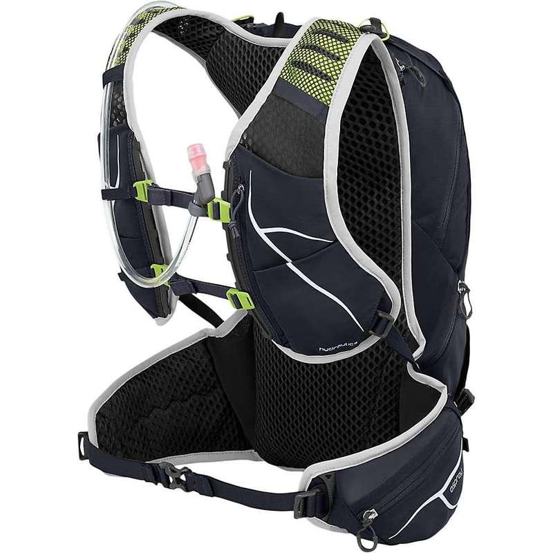 オスプレー メンズ バックパック・リュックサック バッグ Osprey Duro 15 Hydration Pack Alpine Black