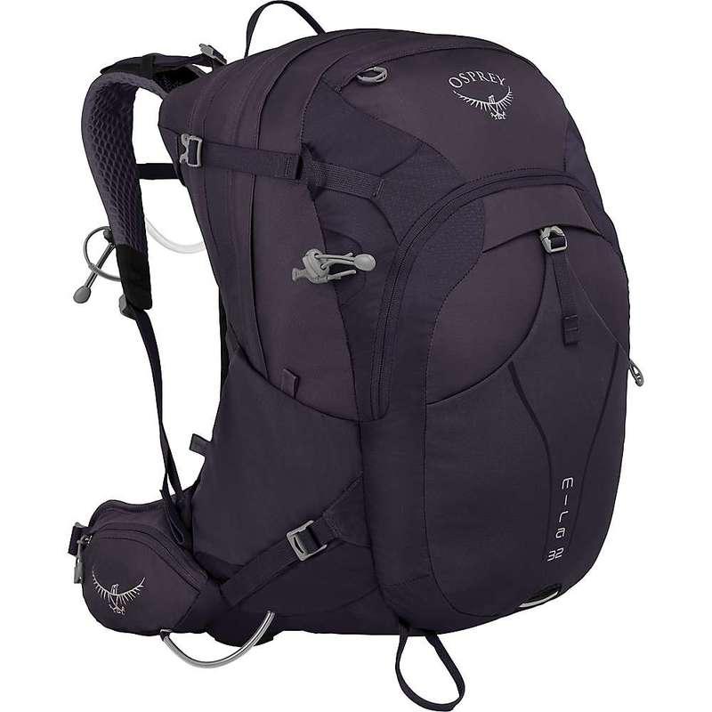 オスプレー メンズ バックパック・リュックサック バッグ Osprey Mira 32 Backpack Celestial Charcoal