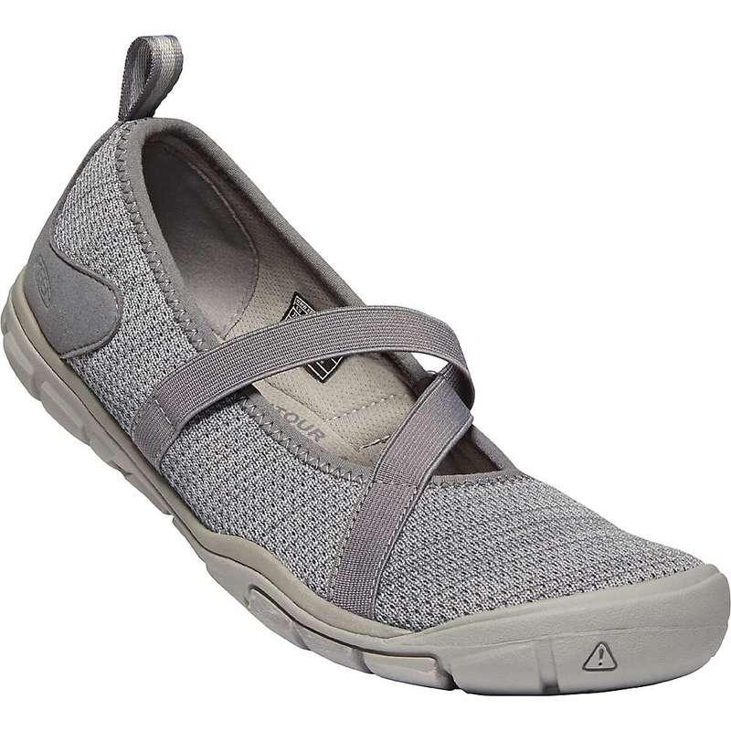 キーン レディース スニーカー シューズ Keen Women's Hush Knit MJ CNX Shoe Steel Grey / Drizzle