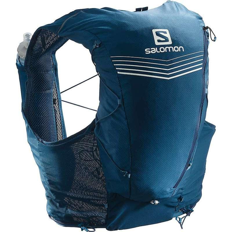 サロモン メンズ バックパック・リュックサック バッグ Salomon Advanced Skin 12 Set Pack Poseidon/Night Sky