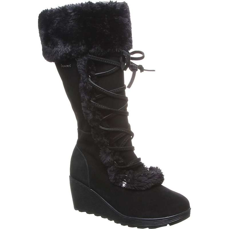 ベアパウ レディース ブーツ・レインブーツ シューズ Bearpaw Women's Minka Boot Black II