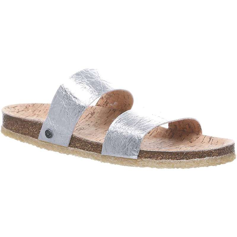 ベアパウ レディース サンダル シューズ Bearpaw Women's Lilo Sandal Silver