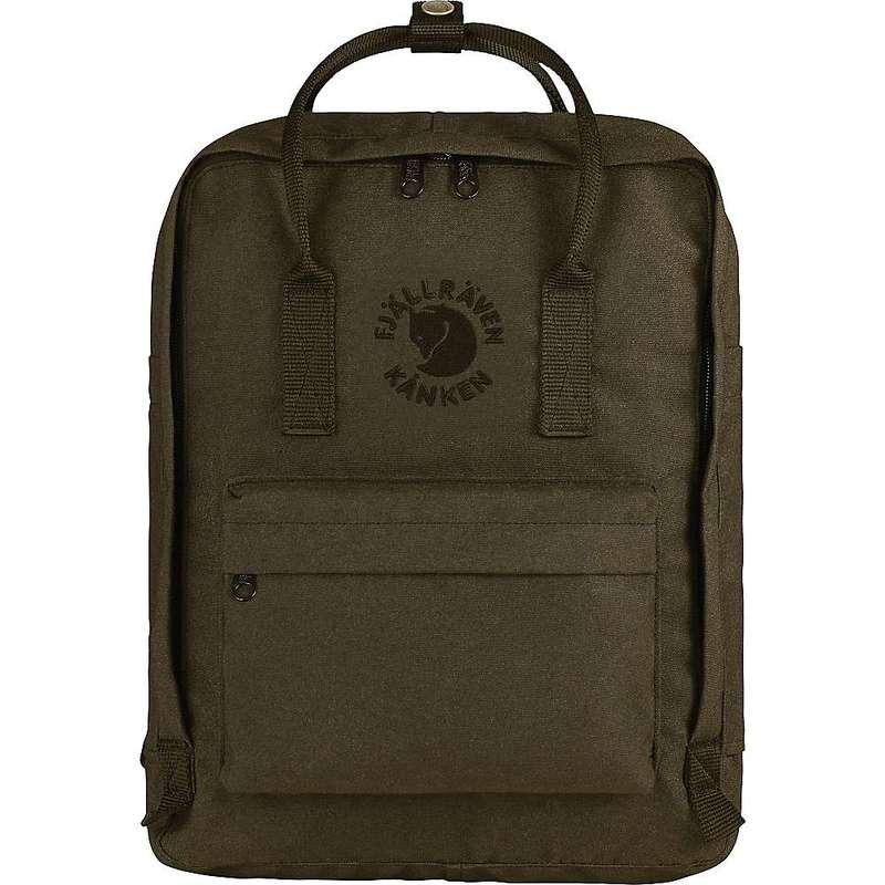 フェールラーベン メンズ バックパック・リュックサック バッグ Fjallraven Re-Kanken Backpack Dark Olive
