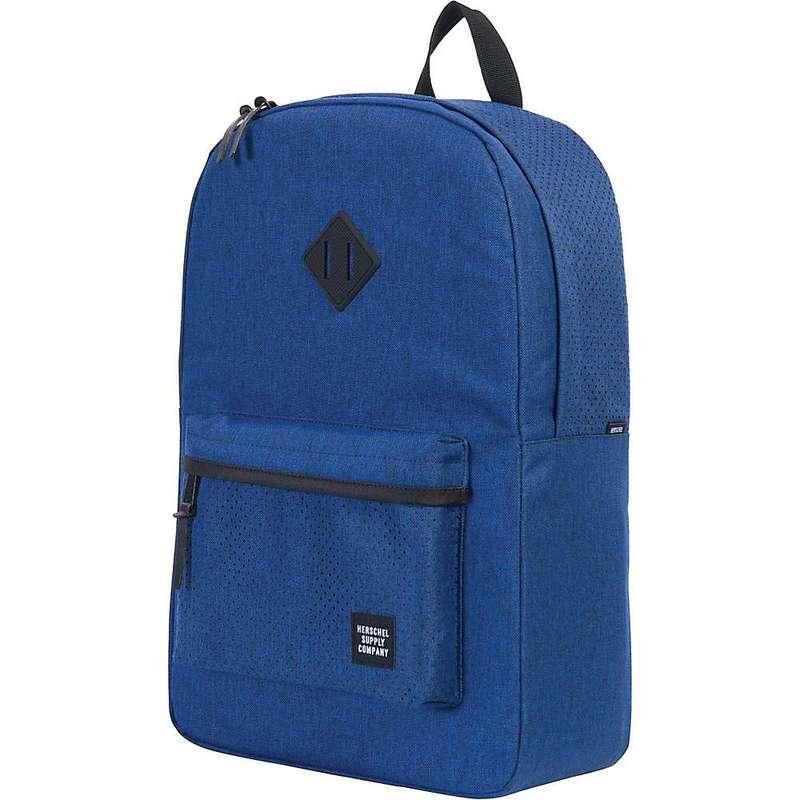 2020年新作 ハーシャル メンズ バックパック・リュックサック バッグ Herschel Supply Co Heritage Backpack Eclipse Crosshatch / Black Rubber, ビーズパーツ手芸総合店アウラ b7aacef3
