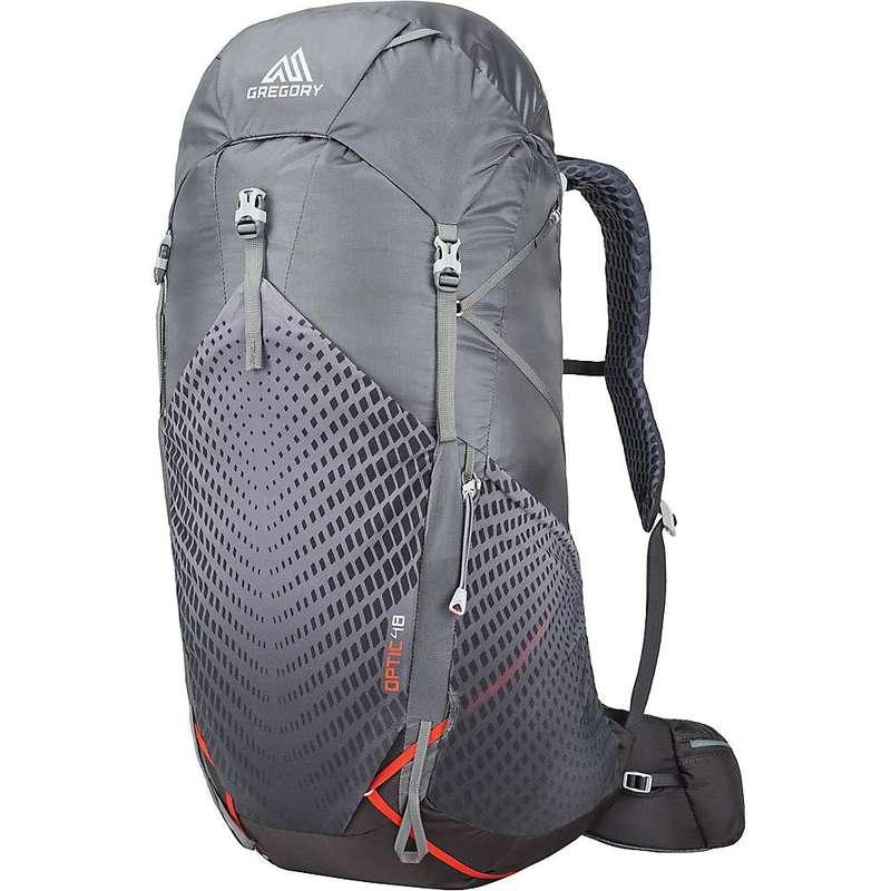 グレゴリー メンズ バックパック・リュックサック バッグ Gregory Optic 48L Backpack Lava Grey