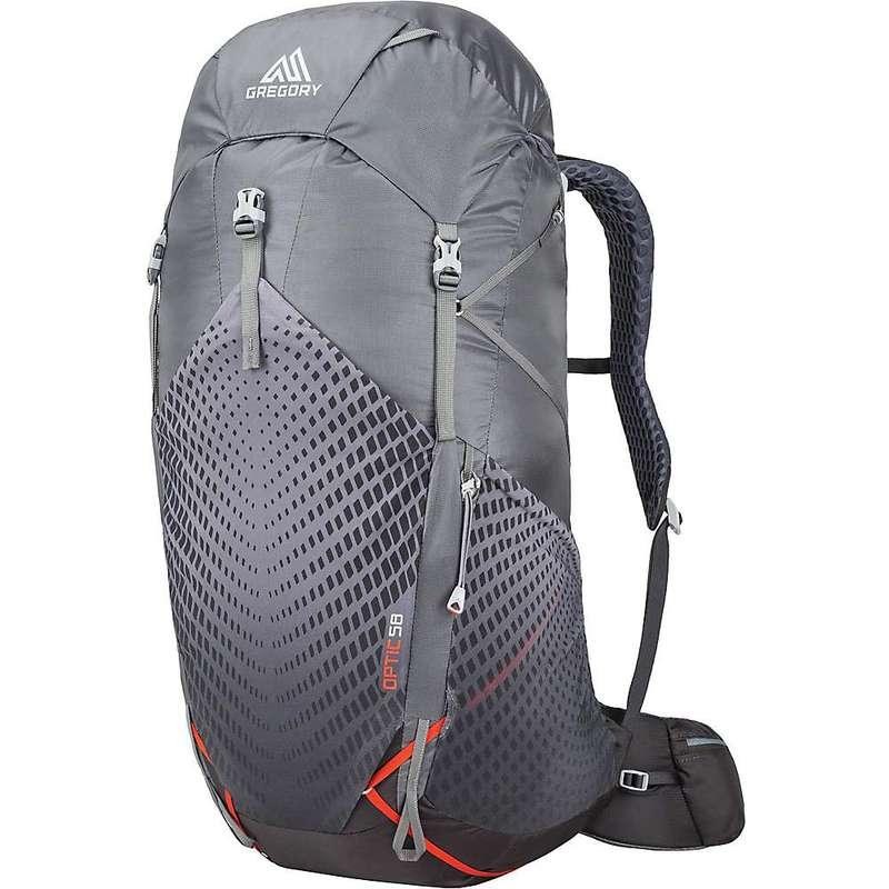 グレゴリー メンズ バックパック・リュックサック バッグ Gregory Optic 58L Backpack Lava Grey