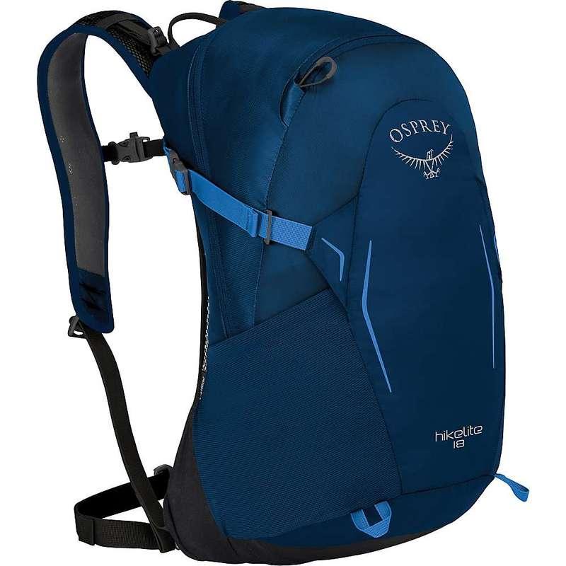 オスプレー メンズ バックパック・リュックサック バッグ Osprey Hikelite 18 Pack Blue Bacca