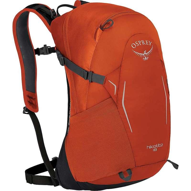 オスプレー メンズ バックパック・リュックサック バッグ Osprey Hikelite 18 Pack Kumquat Orange