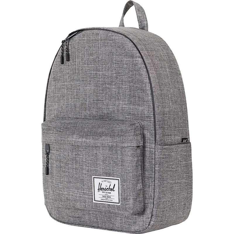 ハーシャル メンズ バックパック・リュックサック バッグ Herschel Supply Co Classic Extra-Large Backpack Raven Crosshatch