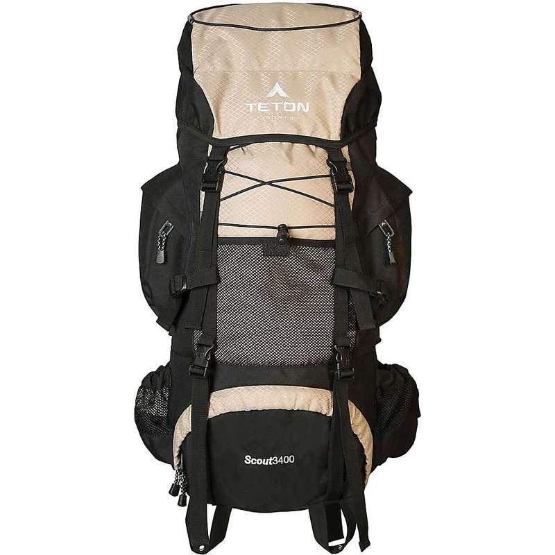 ティトンスポーツ メンズ バックパック・リュックサック バッグ TETON Sports Scout 3400 Backpack Tan