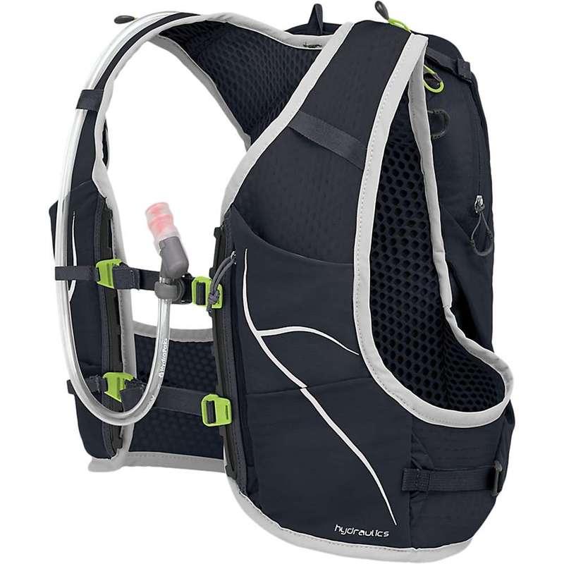 オスプレー メンズ バックパック・リュックサック バッグ Osprey Duro 6 Hydration Pack Alpine Black