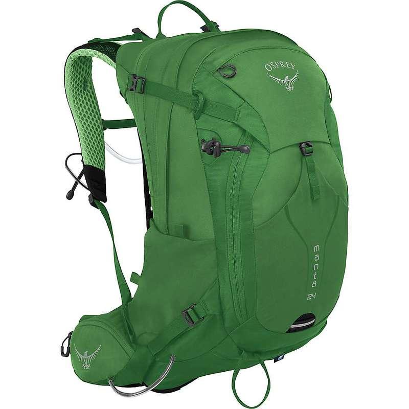 オスプレー メンズ バックパック・リュックサック バッグ Osprey Manta 24 Backpack Green Shade