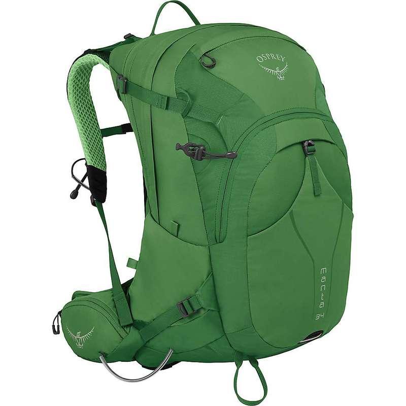 オスプレー メンズ バックパック・リュックサック バッグ Osprey Manta 34 Backpack Green Shade