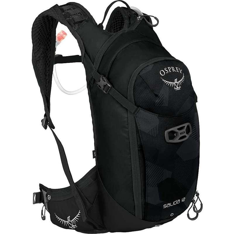オスプレー メンズ バックパック・リュックサック バッグ Osprey Salida 12 Hydration Pack Black Cloud