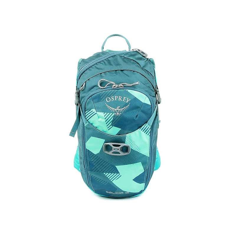 オスプレー メンズ バックパック・リュックサック バッグ Osprey Salida 12 Hydration Pack Teal Glass