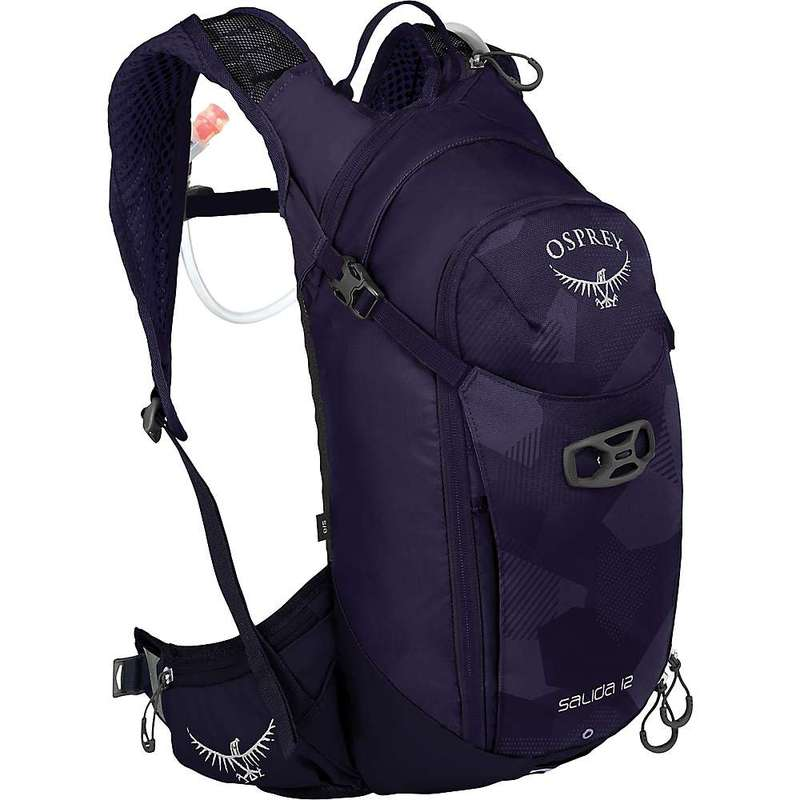 オスプレー メンズ バックパック・リュックサック バッグ Osprey Salida 12 Hydration Pack Violet Pedals