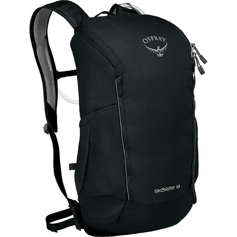 オスプレー メンズ バックパック・リュックサック バッグ Osprey Skarab 18 Backpack Black