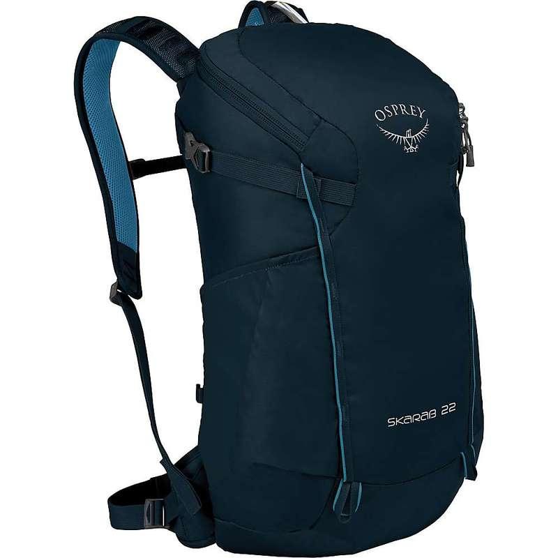 オスプレー メンズ バックパック・リュックサック バッグ Osprey Skarab 22 Backpack Deep Blue