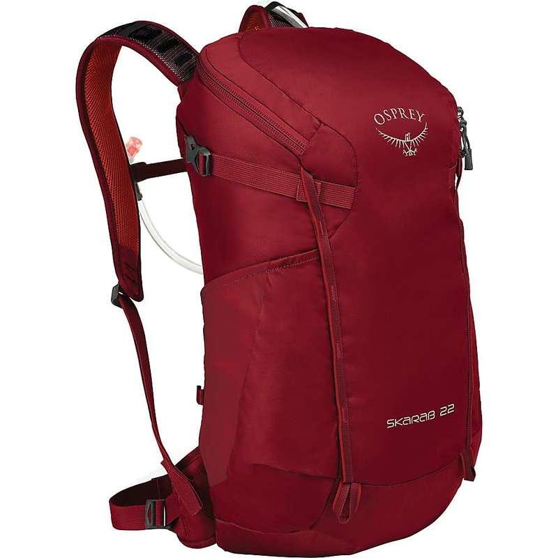 オスプレー メンズ バックパック・リュックサック バッグ Osprey Skarab 22 Backpack Mystic Red