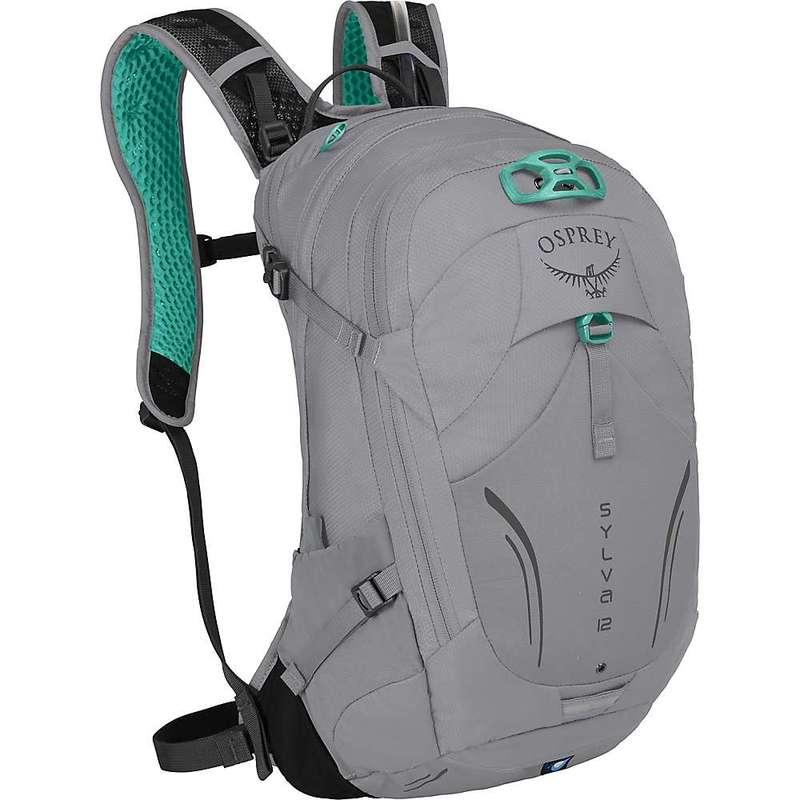 オスプレー メンズ バックパック・リュックサック バッグ Osprey Sylva 12 Hydration Pack Downdraft Grey
