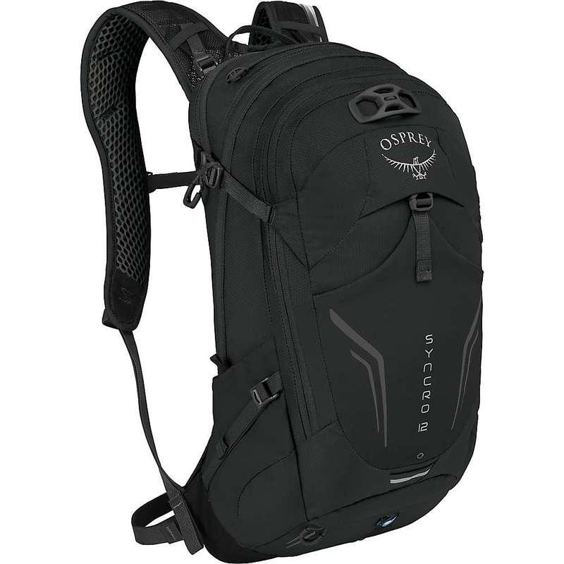 オスプレー メンズ バックパック・リュックサック バッグ Osprey Syncro 12 Hydration Pack Black
