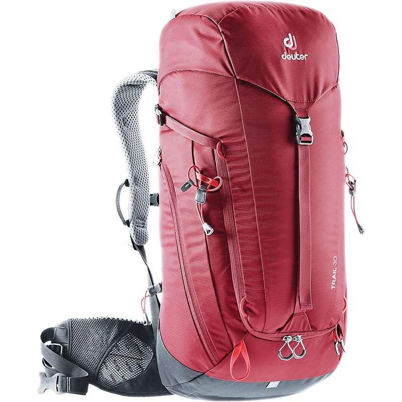 ドイター メンズ バックパック・リュックサック バッグ Deuter Trail 30 Pack Cranberry / Graphite