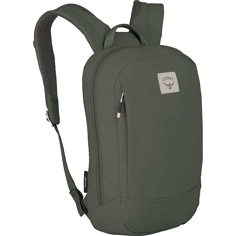 オスプレー メンズ バックパック・リュックサック バッグ Osprey Arcane Small Daypack Haybale Green
