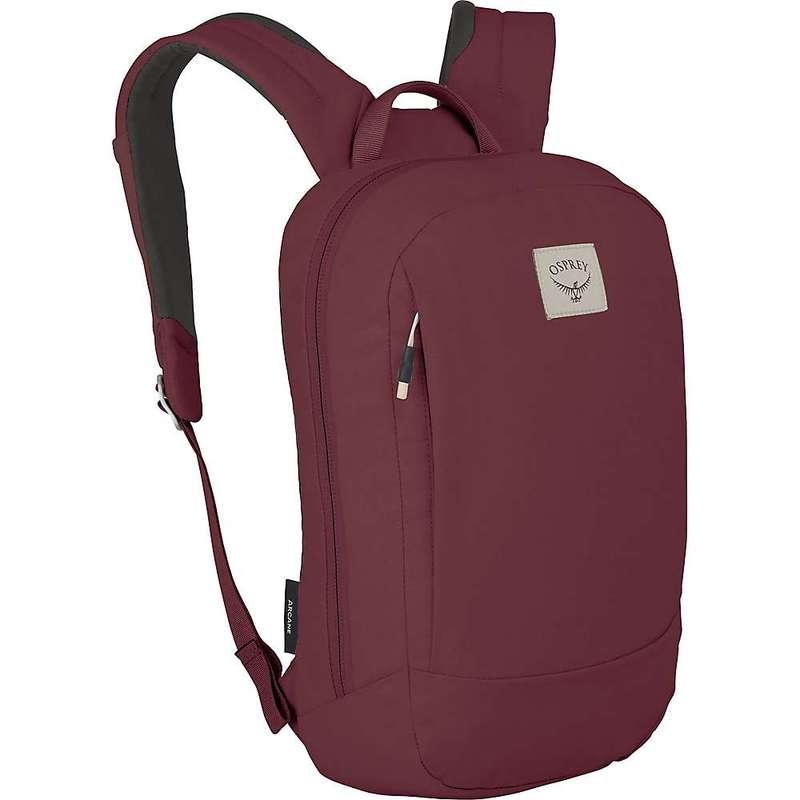 オスプレー メンズ バックパック・リュックサック バッグ Osprey Arcane Small Daypack Mud Red