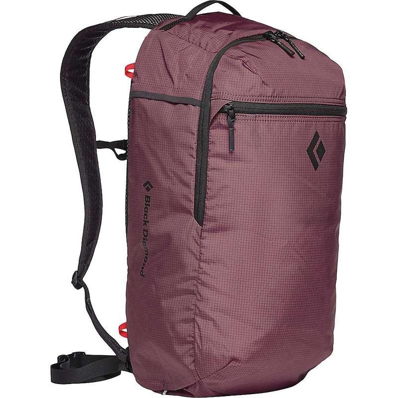 ブラックダイヤモンド メンズ バックパック・リュックサック バッグ Black Diamond Trail Zip 18 Backpack Mulberry