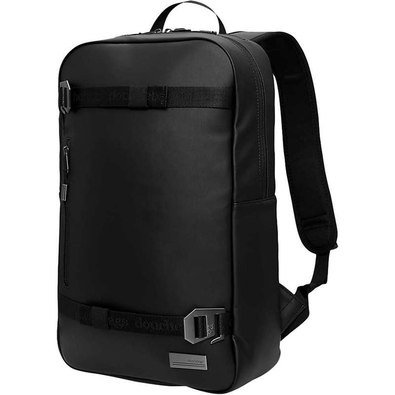 デューシュバッグス メンズ バックパック・リュックサック バッグ Douchebags Scholar Backpack Black Leather