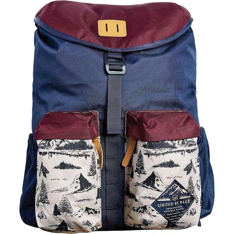 ユナイテッドバイブルー メンズ バックパック・リュックサック バッグ United By Blue 30L Base Backpack Mountain Vista / Maroon