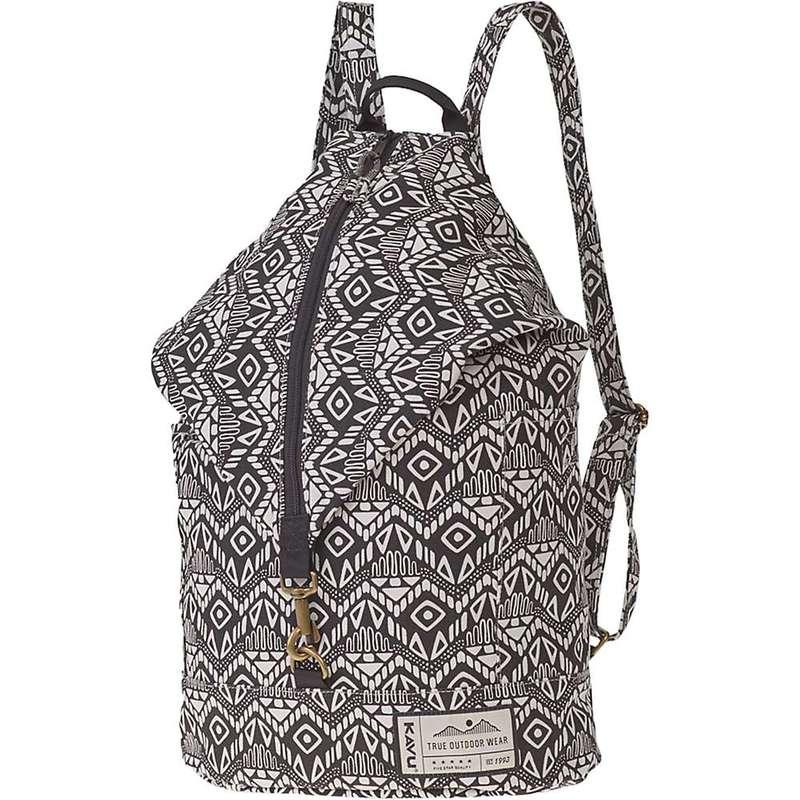 カブー メンズ バックパック・リュックサック バッグ KAVU Free Range Bag Black Batik