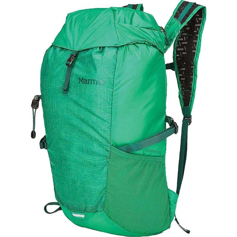 マーモット メンズ バックパック・リュックサック バッグ Marmot Kompressor Pack Verde / Botanical Garden