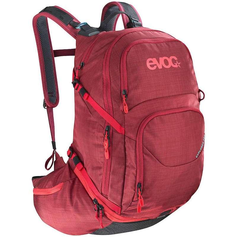 イーボック メンズ バックパック・リュックサック バッグ Evoc Explorer Pro 26L Backpack Heather Ruby