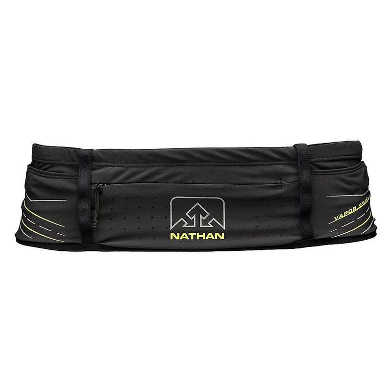 ナーサン メンズ ボディバッグ・ウエストポーチ バッグ Nathan VaporKrar 20 oz Waist Pak Black