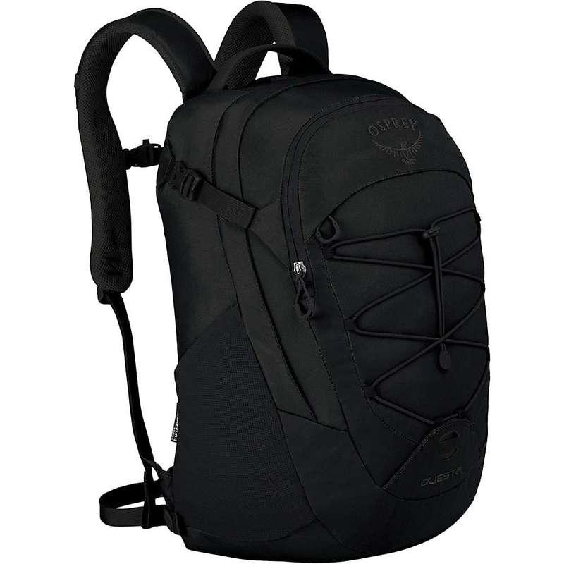 オスプレー メンズ バックパック・リュックサック バッグ Osprey Questa Pack Black