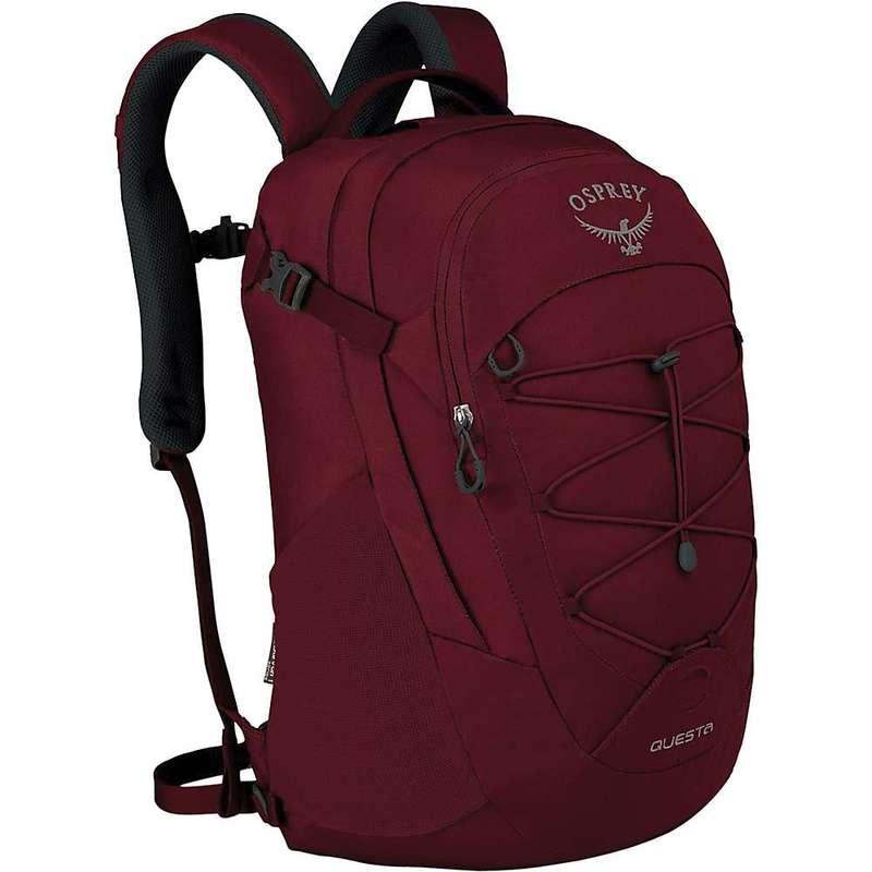 オスプレー メンズ バックパック・リュックサック バッグ Osprey Questa Pack Red Herring