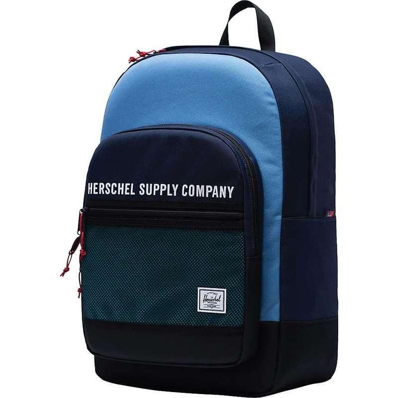 ハーシャル メンズ バックパック・リュックサック バッグ Herschel Supply Co Kaine Backpack Peacoat / Riverside / Black / Tile Blue