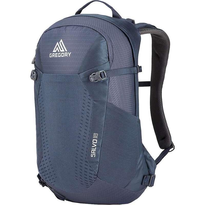 グレゴリー メンズ バックパック・リュックサック バッグ Gregory Men's Salvo 18L Pack Smoke Blue