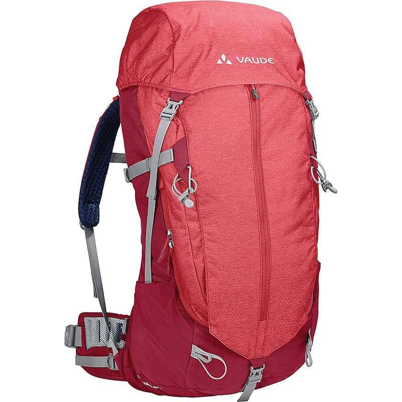 ファウデ レディース バックパック・リュックサック バッグ Vaude Women's Brentour 42+10 Backpack Red