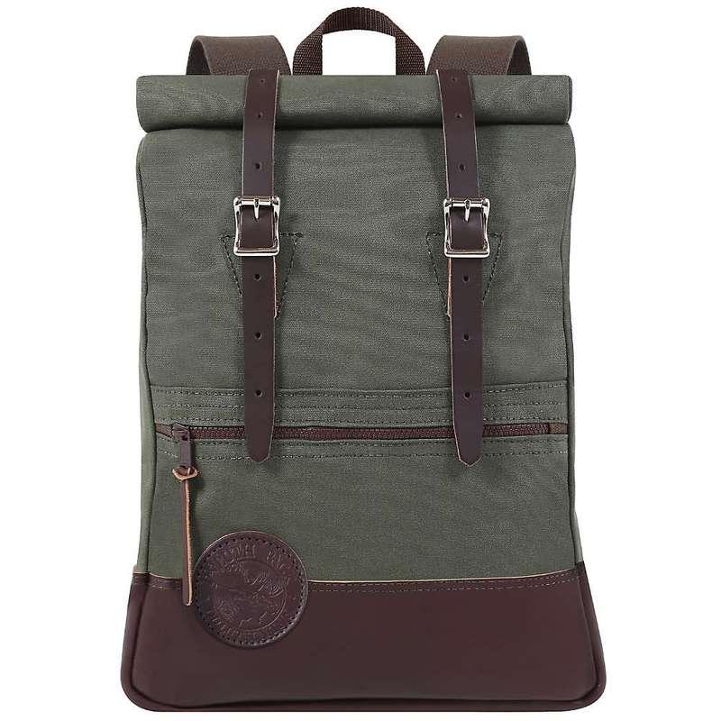 ダルースパック メンズ バックパック・リュックサック バッグ Duluth Pack Deluxe Roll Top Scout Pack Olive Drab