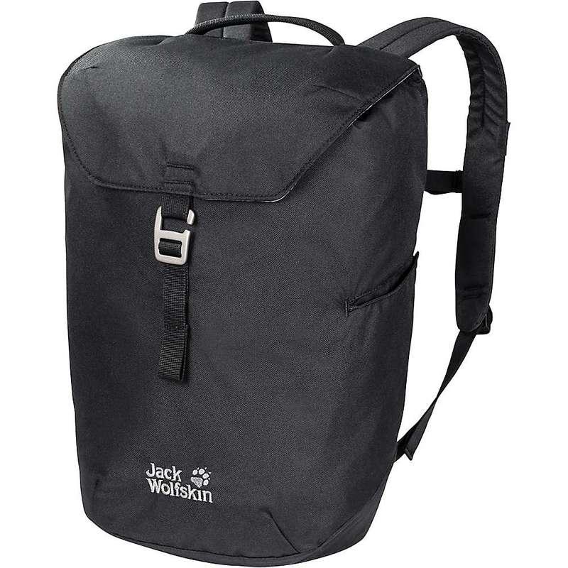 ジャックウルフスキン メンズ バックパック・リュックサック バッグ Jack Wolfskin Kado 20 Pack Black