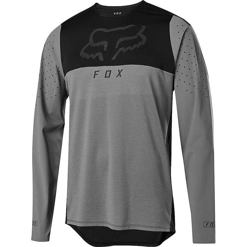 フォックス メンズ シャツ トップス Fox Men's Flexair Delta LS Jersey Pewter