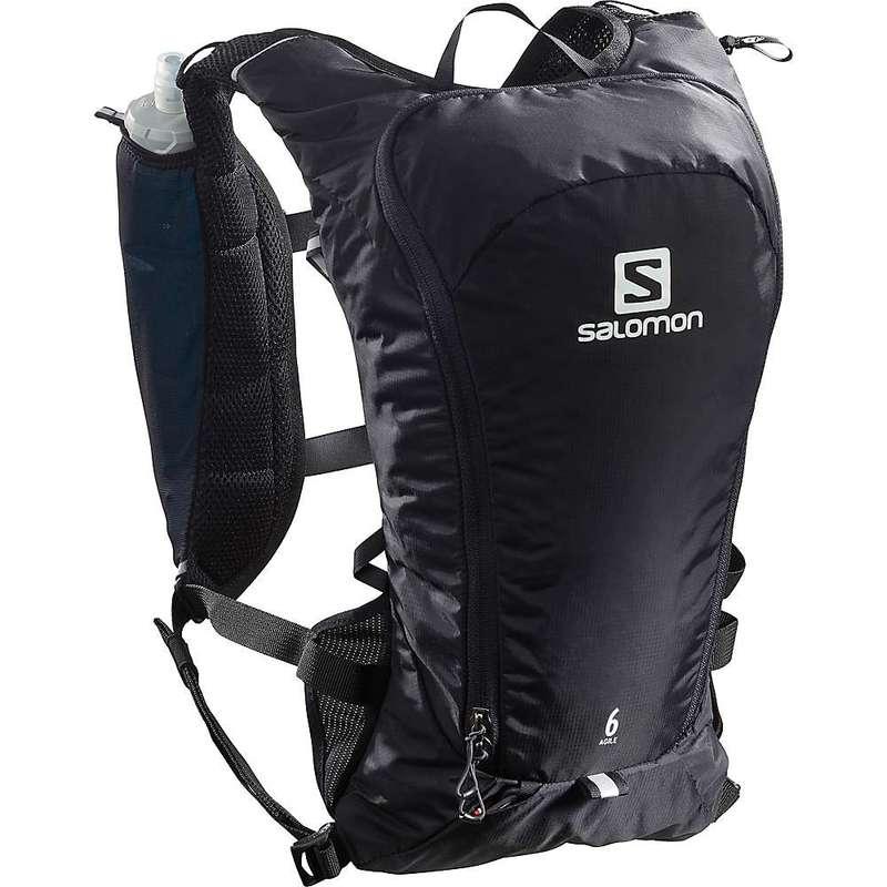 サロモン メンズ バックパック・リュックサック バッグ Salomon Agile 6 Set Pack Black